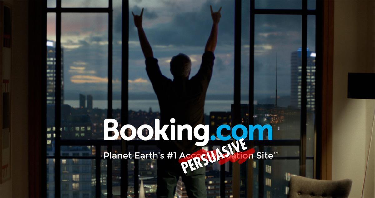 booking.com e persuasione