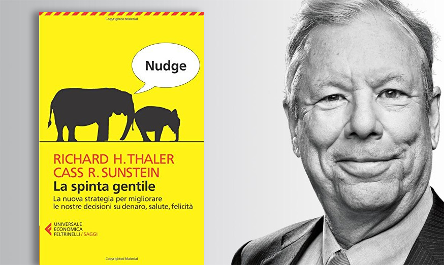 riassunto di nudge di Richard Thaler