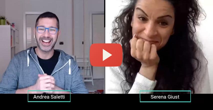 Andrea Saletti intervista Serena Giust