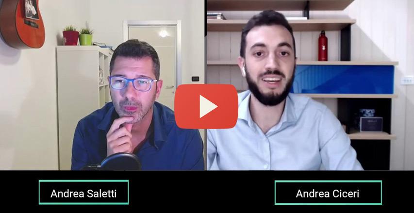 Andrea Saletti intervista Andrea Ciceri
