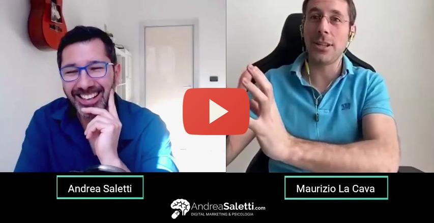 Andrea Saletti intervista Maurizio La Cava