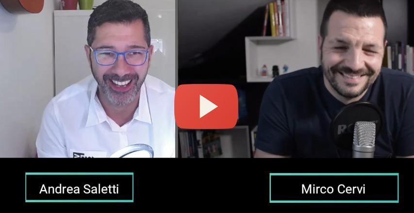 Andrea Saletti intervista Mirco Cervi